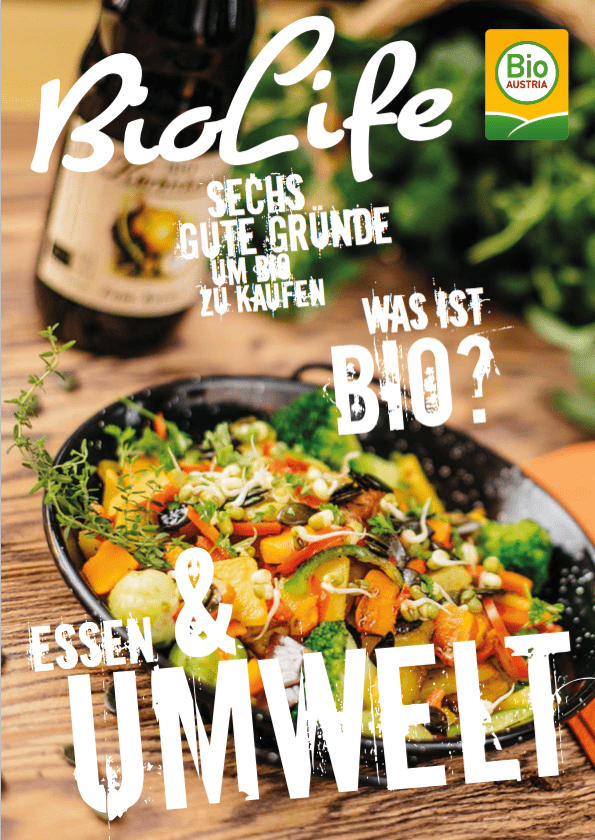 Cover vom BIO AUSTRIA-Magazin BioLife, Ausgabe 01/18