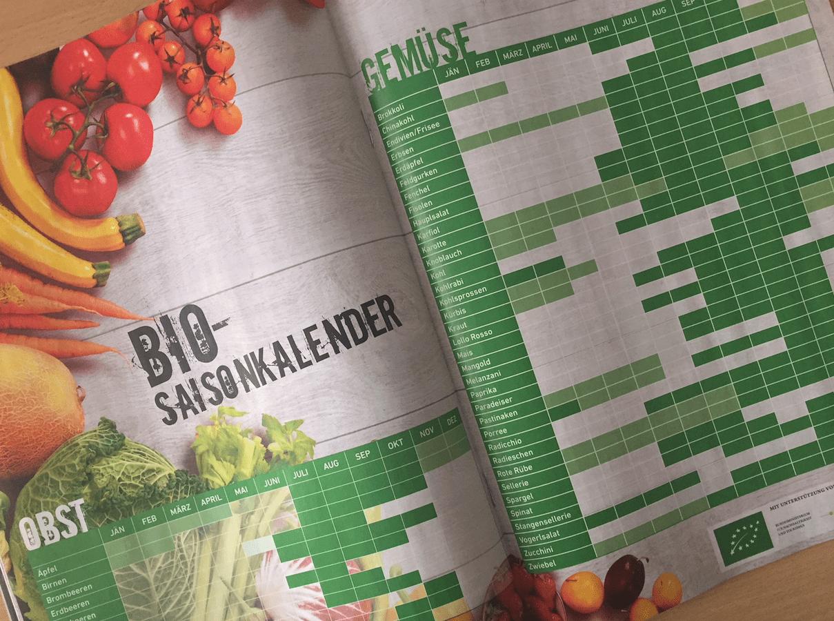 Der Bio-Saisonkalender im BioLife