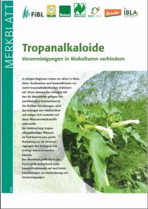 Tropanalkaloide
