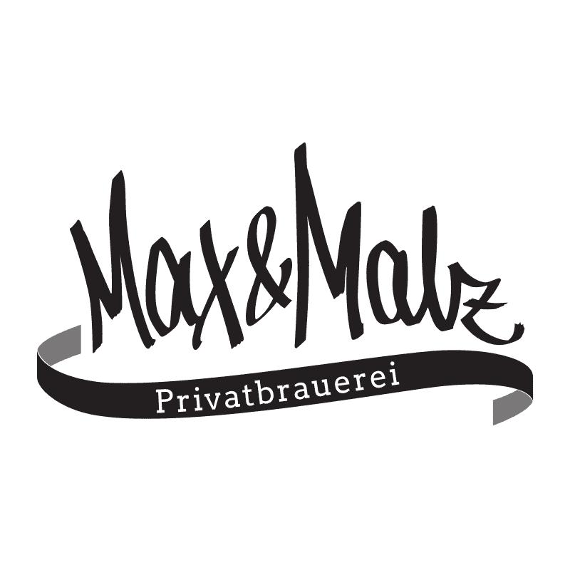 schriftzug Max und Malz