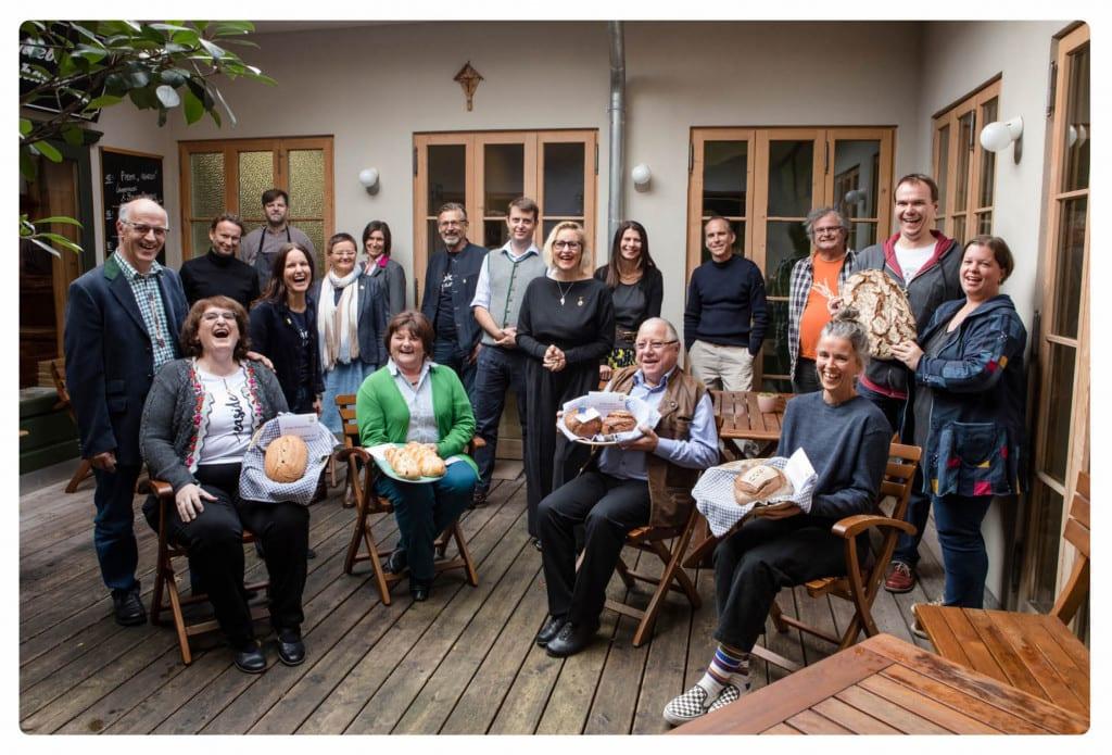 Gruppe Jury und GewinnerInnen Bio-Brotprämierung 2020