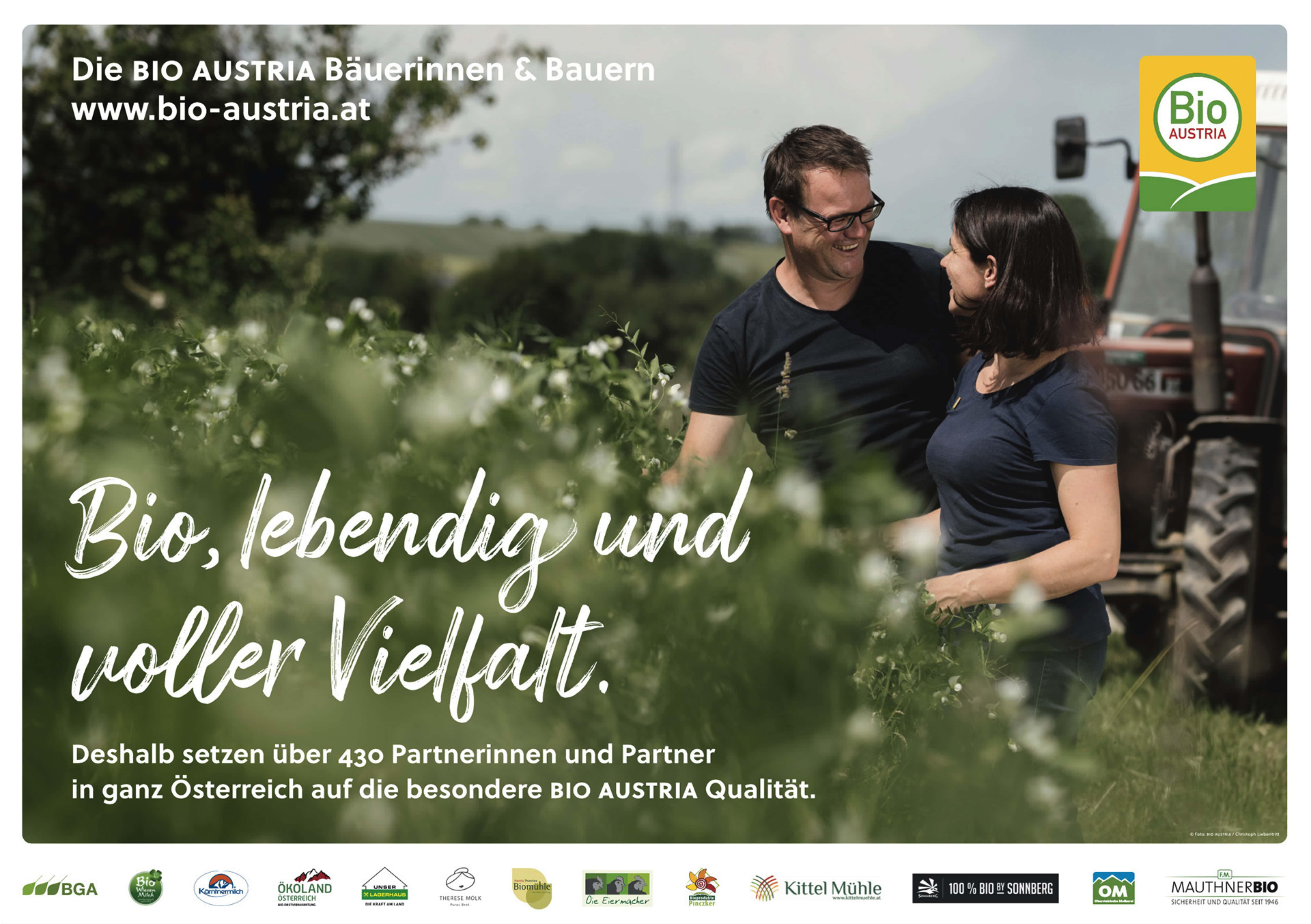 BIO AUSTRIA startet neue Kampagne   BIO AUSTRIA