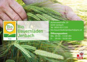 Visitenkarte Bio-Bauernladen Jenbach