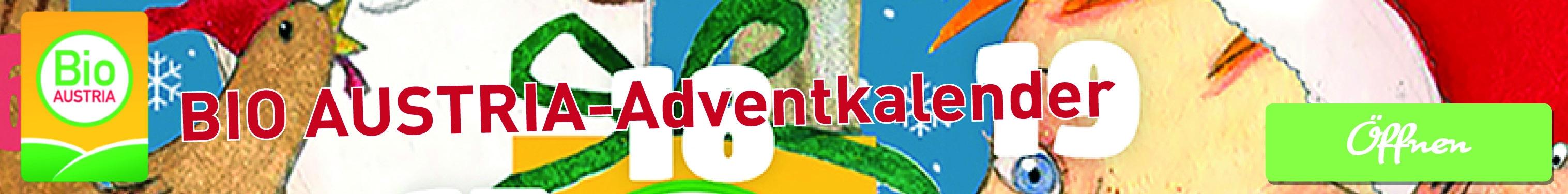 BIO AUSTRIA Adventkalender