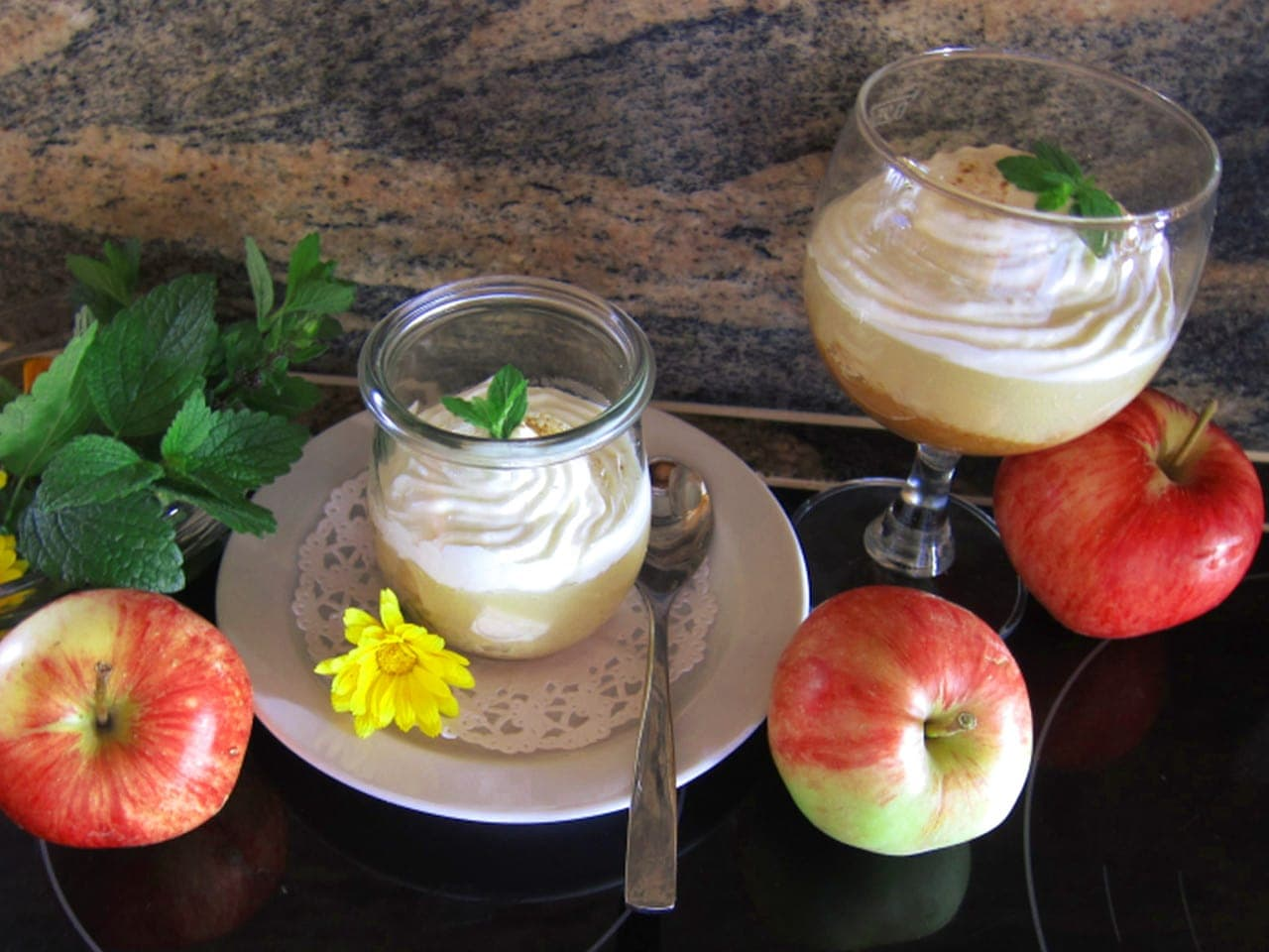 Apfel Trifle