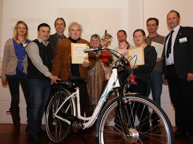 BIO AUSTRIA Fuchs Preisträger 2013