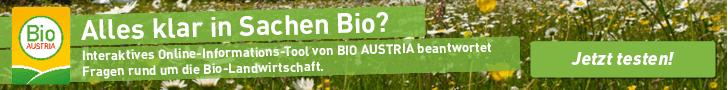 Bio-Wissen testen Onlineschoolungstool Konsument