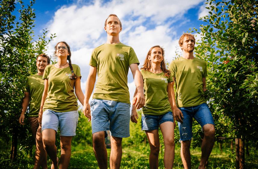 5 Mitglieder von BANG, der jungen Generation von BIO AUSTRIA