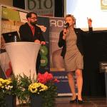 Reden bei BIO GASTRO TROPHY 2018 Verleihung Veranstaltung