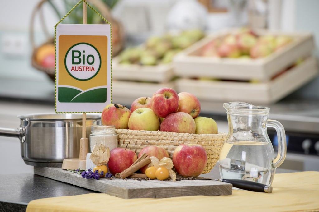 Bio-Äpfel für Apfelmus