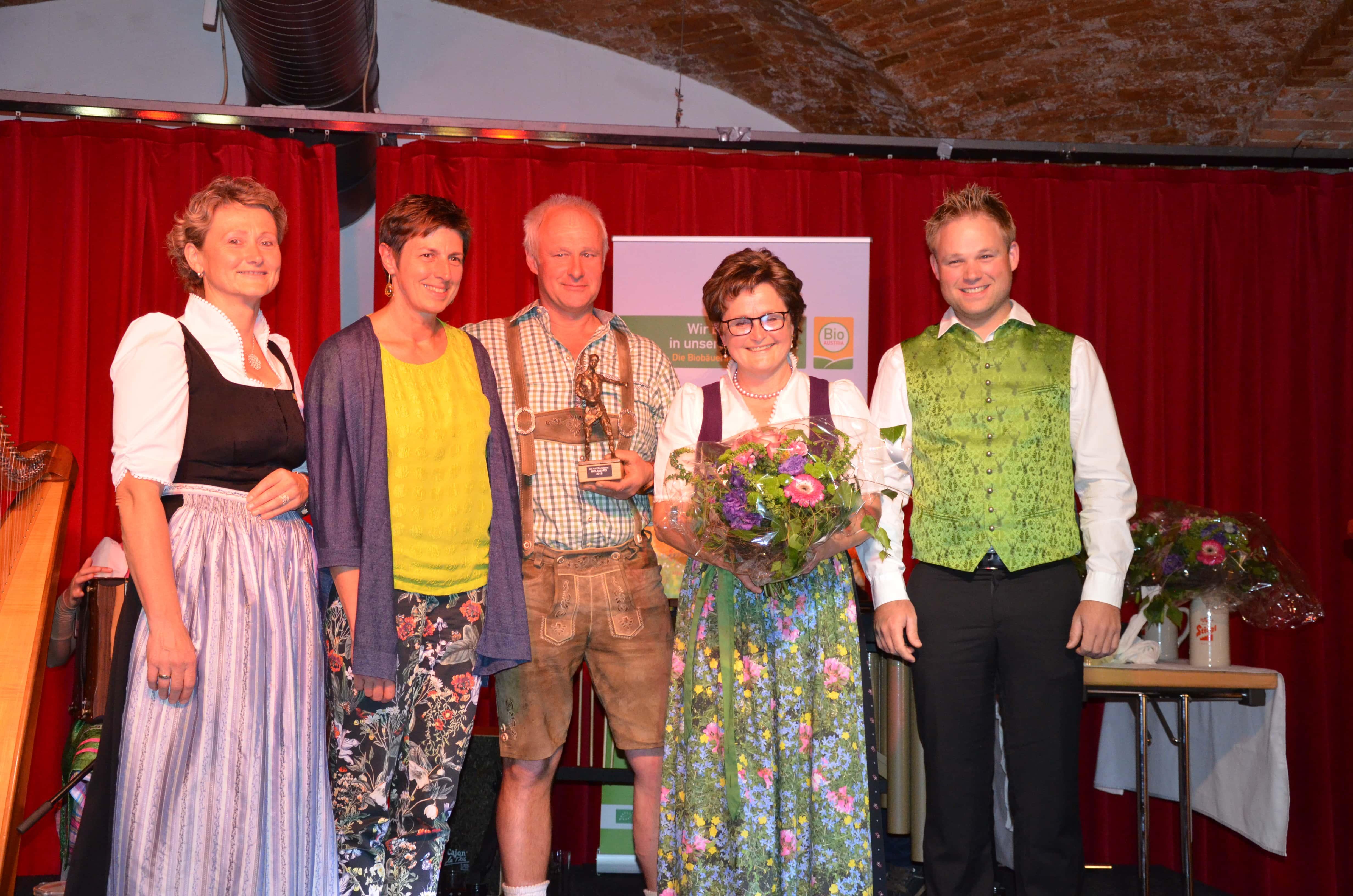 Gewinner Bio Award Salzburg 2018, Gertrude Grabmann