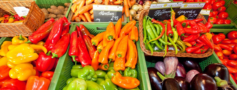 Gemüse am Markt