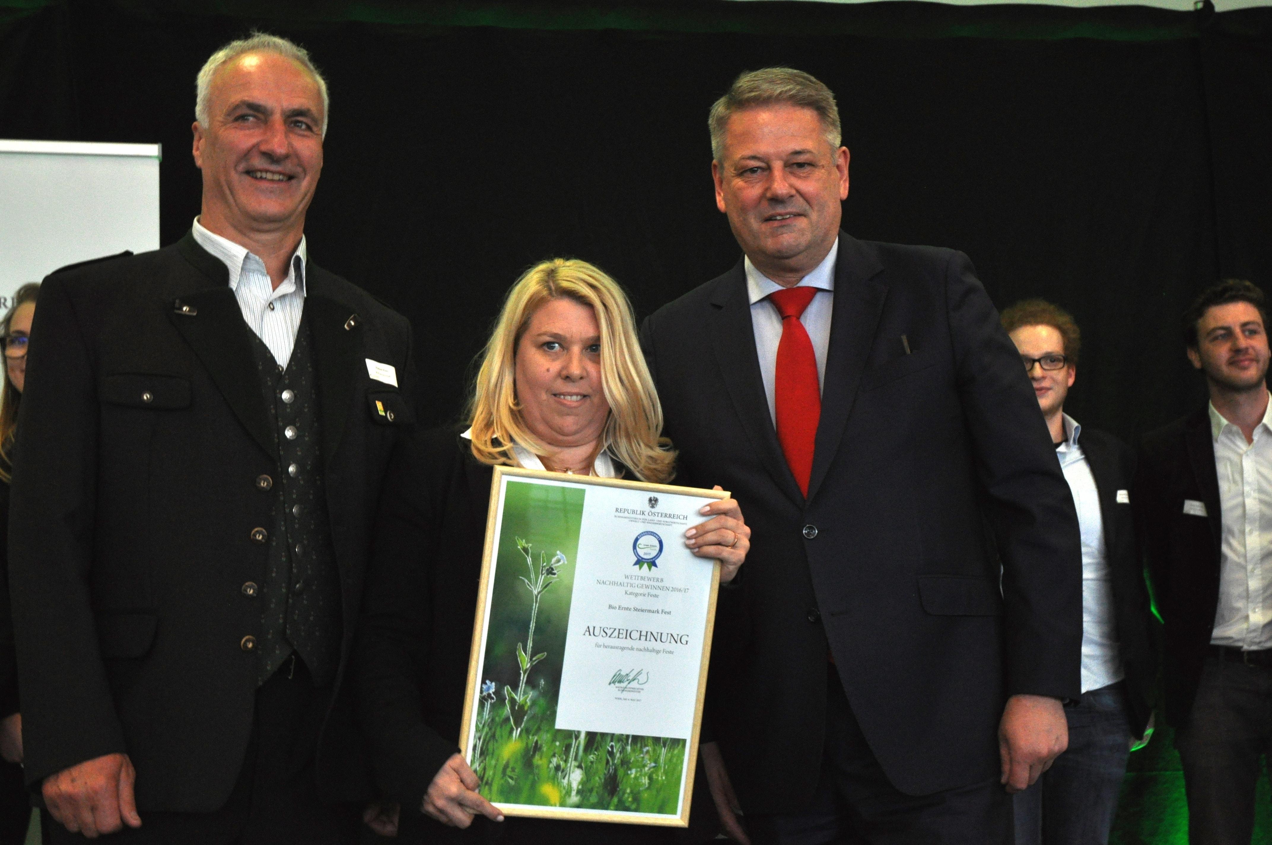 Bio-Fest Graz Gewinnerin des Nachhaltigkeits-Preises des Netzwerks Green Events Austria