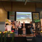 BIO GASTRO TROPHY 2018 Gewinner Frienerhof bei der Verleihung auf der Bühne