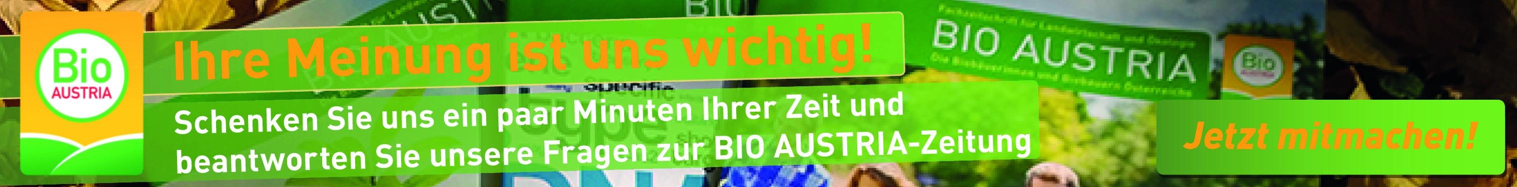 Leserbefragung BIO AUSTRIA