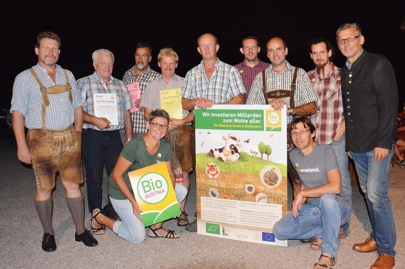 Gruppenfoto beim Sommertreffen in Randegg
