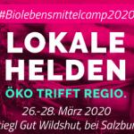 Bio-Lebensmittelcamp Öko trifft Regio