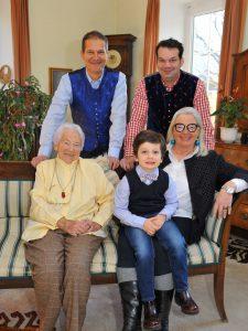 Bild der Eigentümerfamilie der Hirter Brauerei