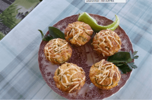 Muffins pikant