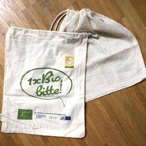 Bio-Baumwollbeutel für Obst und Gemüse von BIO AUSTRIA