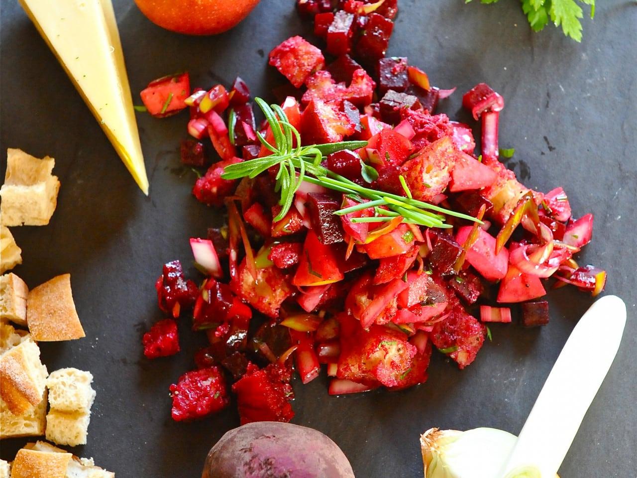 Rote Rüben Salat