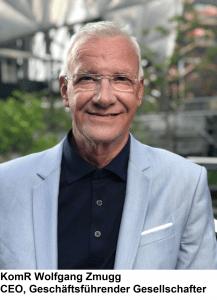 Herr Zmugg, CEO